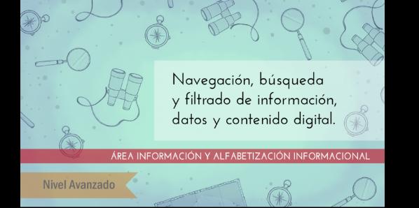 FDCD. Información y Alfabetización informacional. Navegación, búsqueda y filtrado de información, datos y contenido digital (nivel avanzado) (3ª ed)