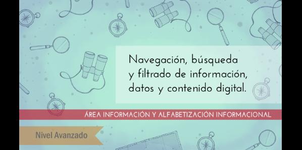FDCD. Información y Alfabetización informacional. Navegación, búsqueda y filtrado de información, datos y contenido digital (Nivel AVANZADO) (4ª edición)