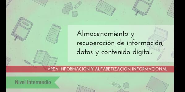 FDCD. Información y Alfabetización informacional. Almacenamiento y recuperación de información, datos y contenido digital. (Nivel medio) (3ª ed)